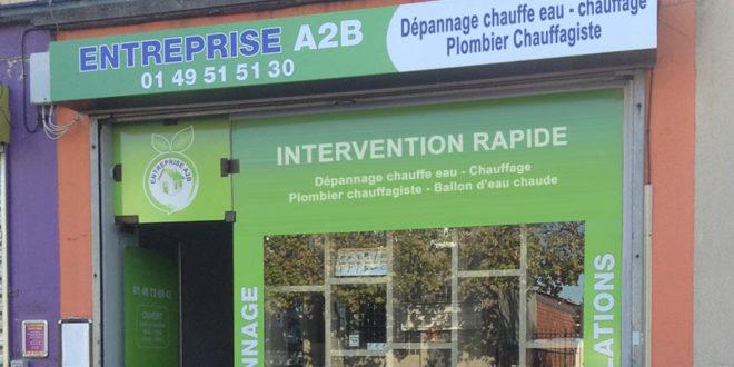 Entreprise A2B, entreprise de plomberie générale